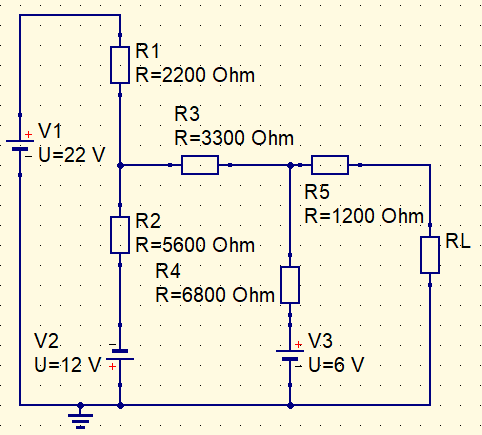 Circuit example maximum power transfer