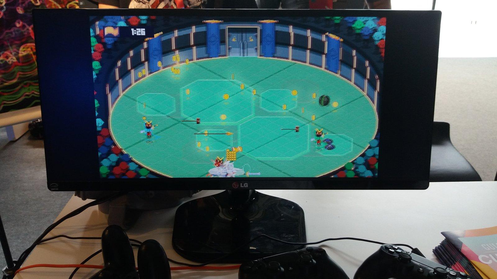 Arena game PUC