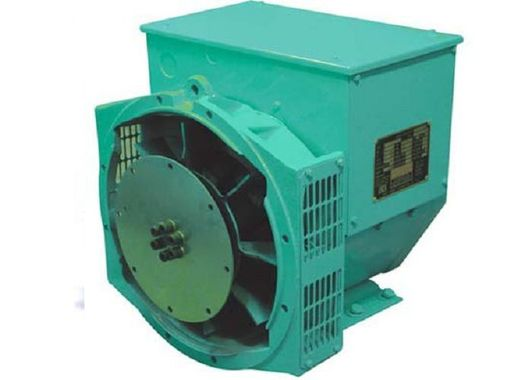 Alternator with fan