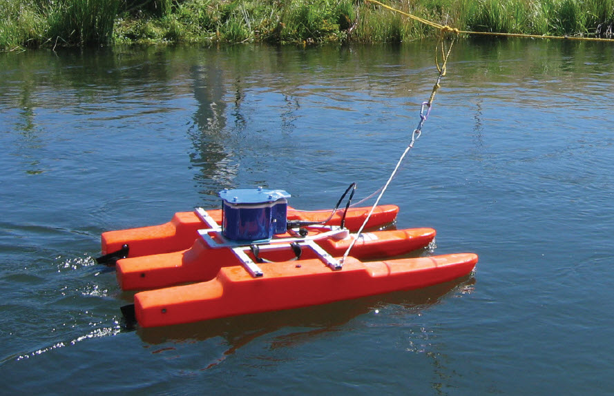 ADCP in boat