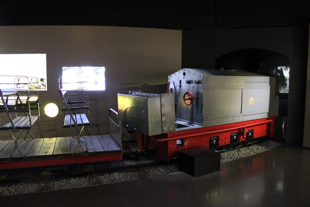 Cave gas train