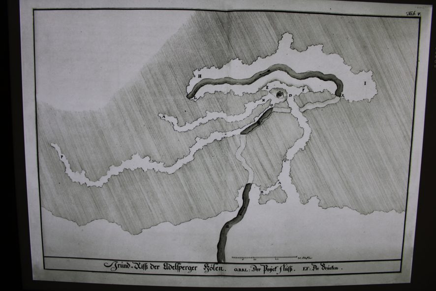 Old cave map