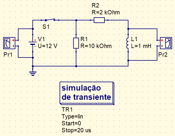 Coil discharge circuit