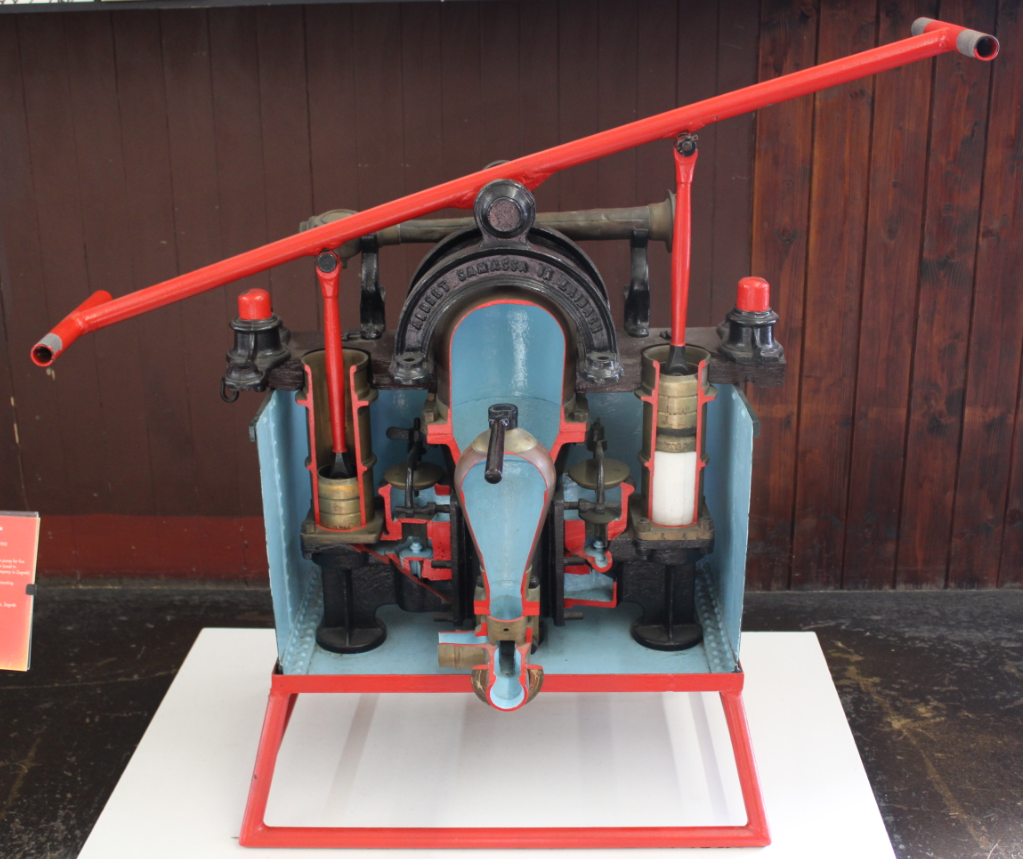 Manual fire pump
