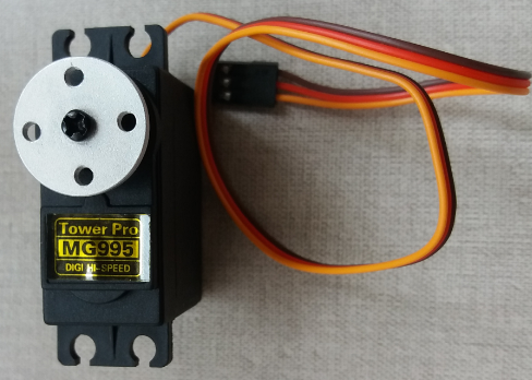 1st servo with disk