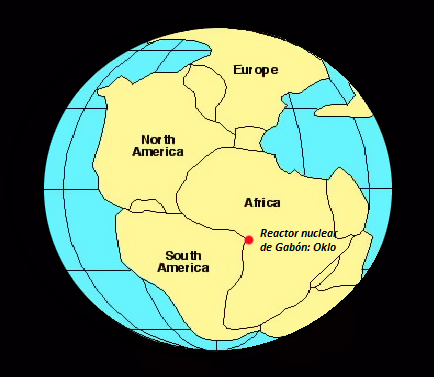 location of natural nuclear reactor